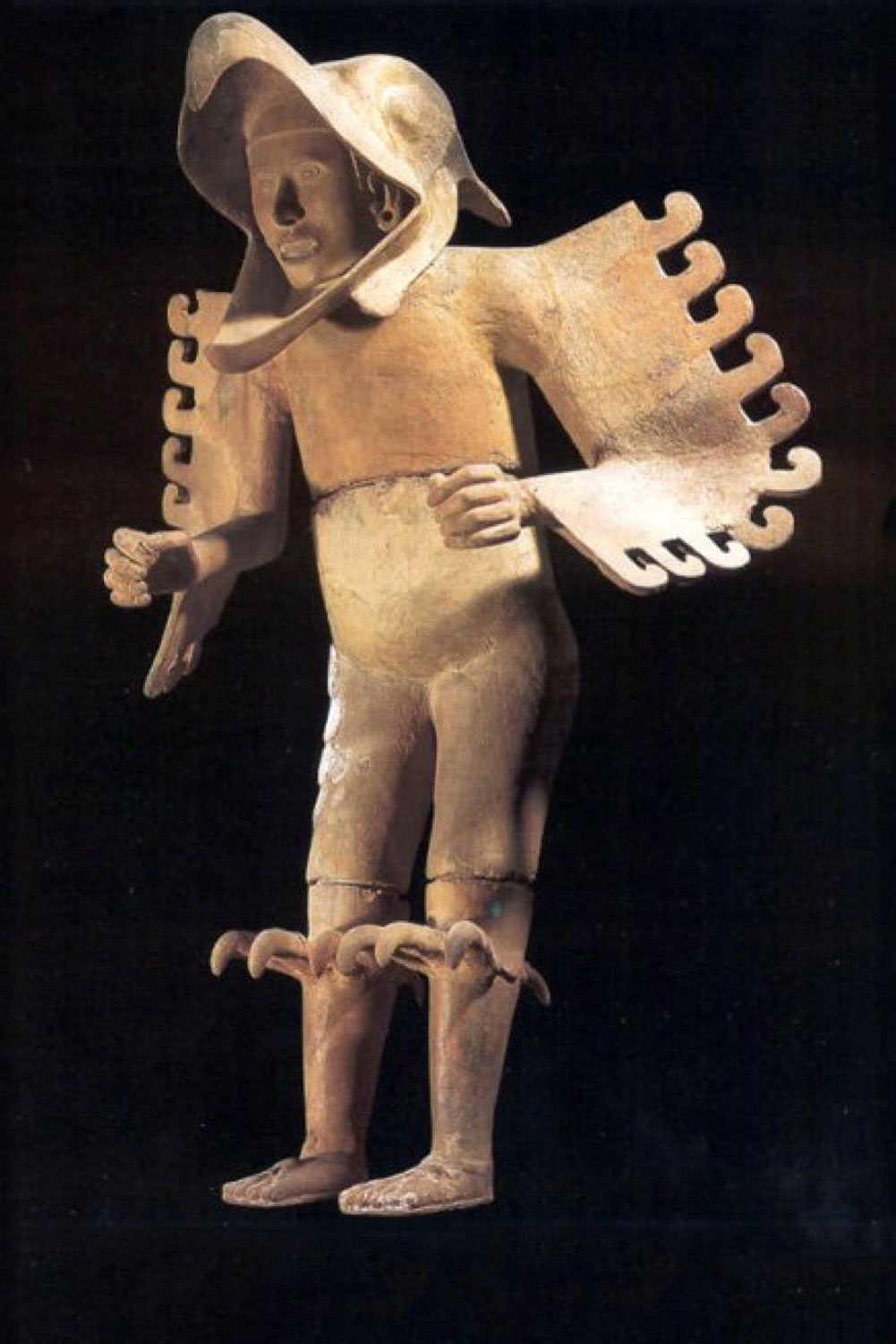 Eagle Warrior from  Tenochtitlán  (National Museum of Anthropology, Mexico City).