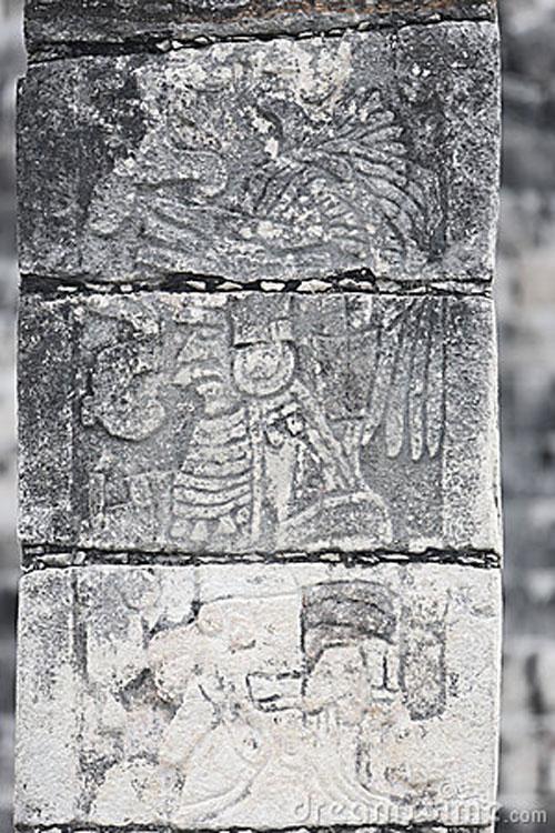 The Jaguar Warrior, Chichén Itzá, The Lower Jaguar Temple