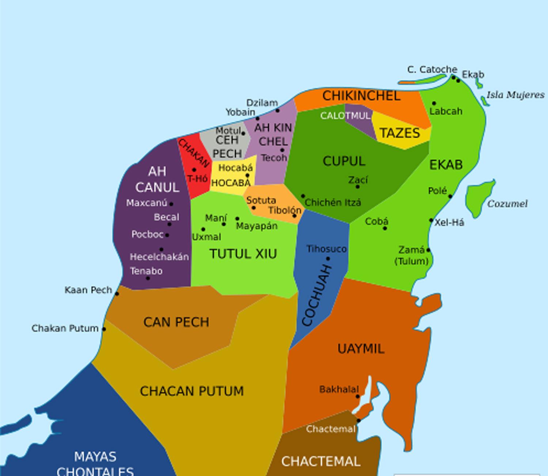 Kuchkabals, the chiefdoms of Yucatán