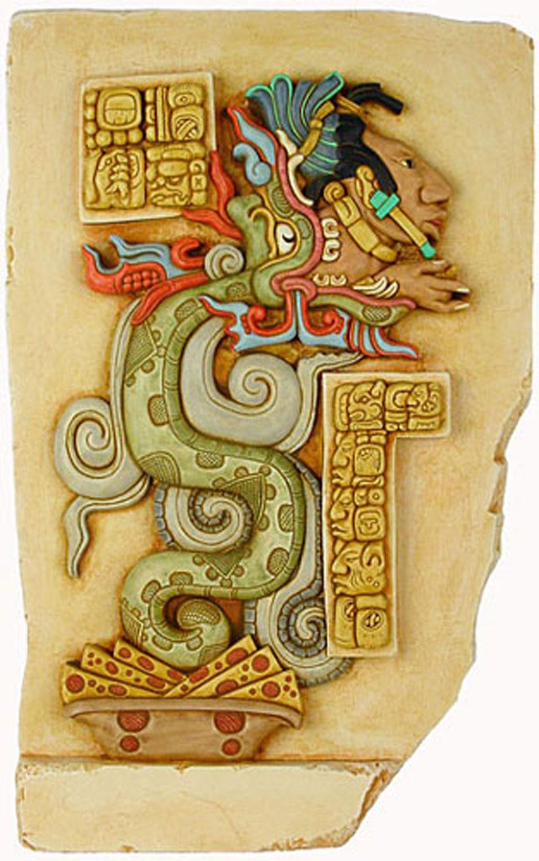 Gukumatz, the Serpent God of the K'iche' Maya (credit: Pinterest)