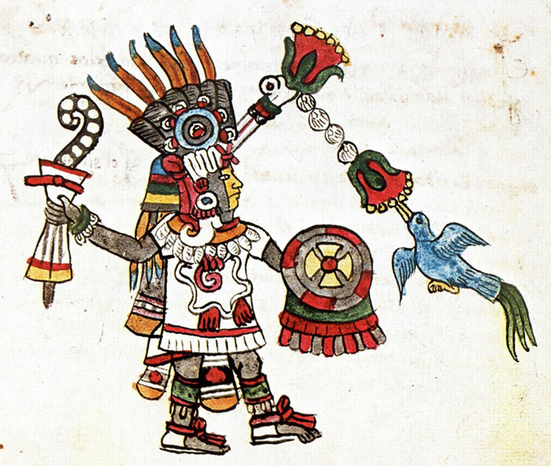 Quetzalcóatl in the  Codex Magliabechiano .(Credit: Pinterest).