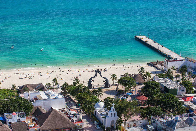 Playa Del Carmen Beach Hammocks Ruins