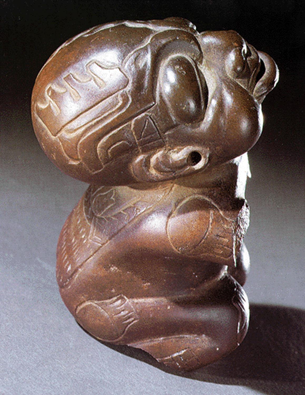 The chinless Olmec dwarf: latingamericanstudies.org .