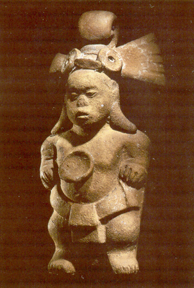 Dwarf from Jaina Island, Mexico: pinterest.com.mx