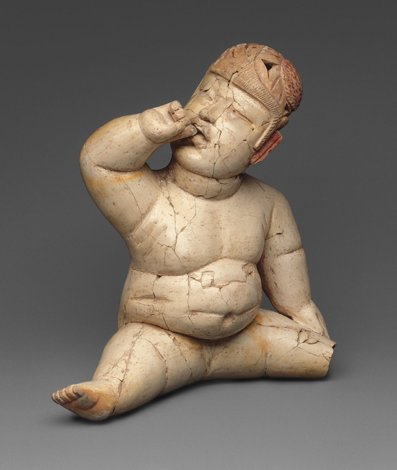Olmec child with Down's Syndrome, 1200-900 BC: pinterest.com.mx .