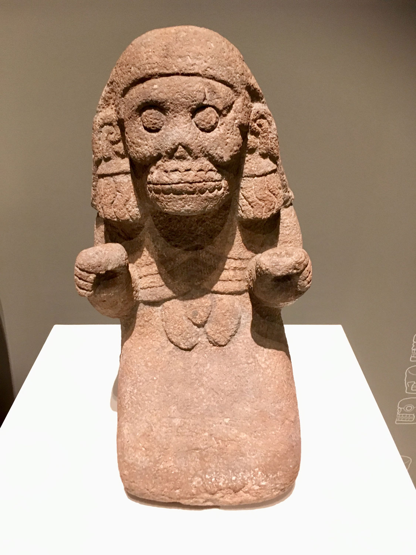 Mictēcacihuātl , the Queen of Underworld.
