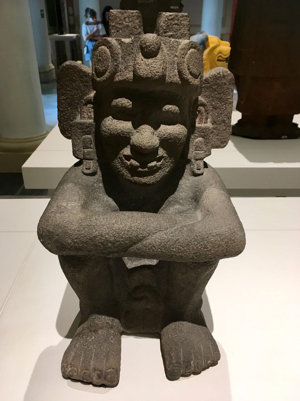 Xiuhtecuhtli, God of Fire.