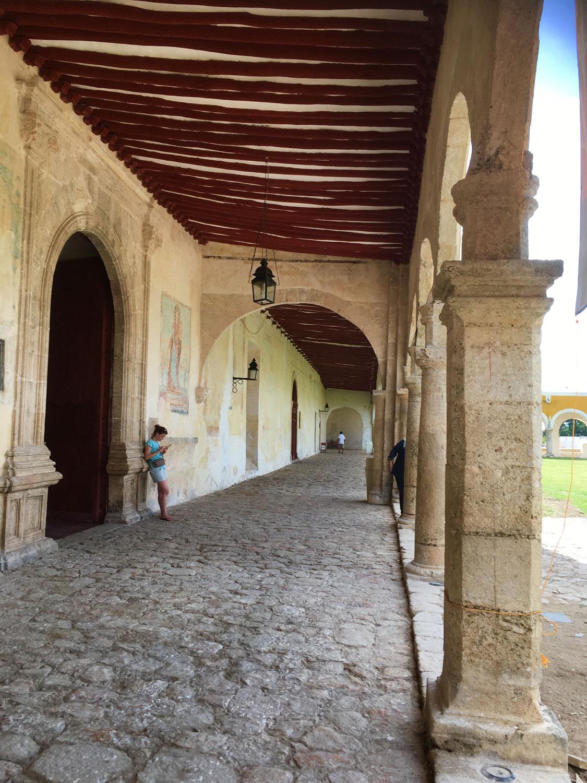 The atrium of the Convent.