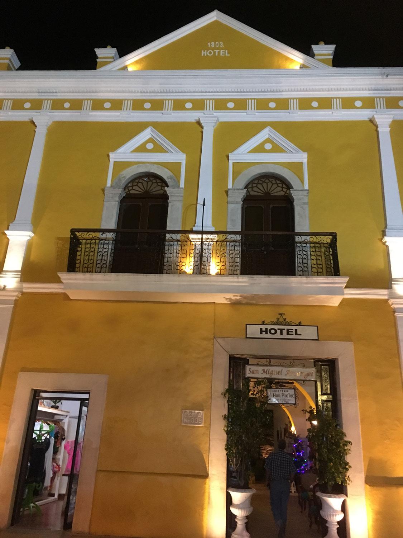 Hotel San Miguel Arcángel.