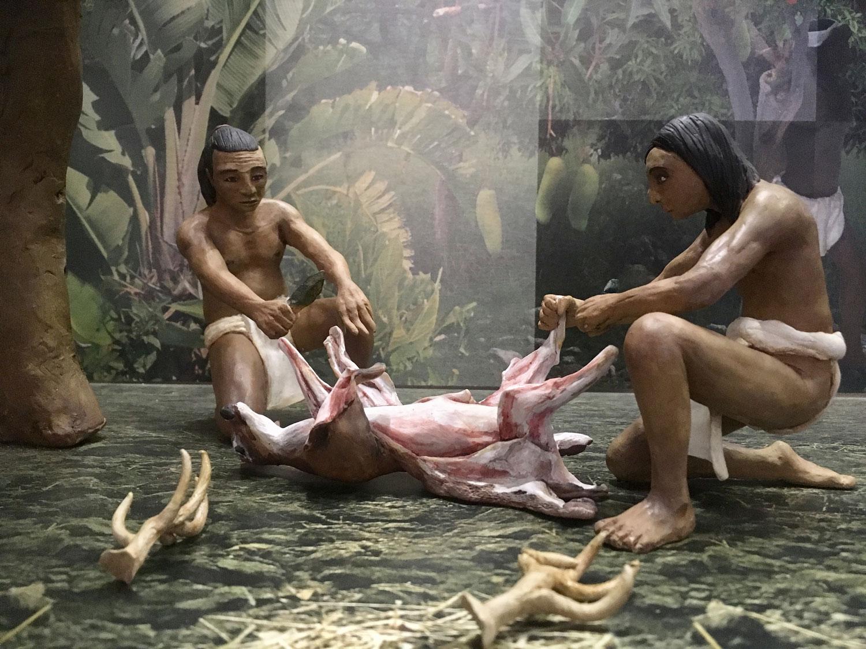 Hunters. I took the photos at Mérida Museum.