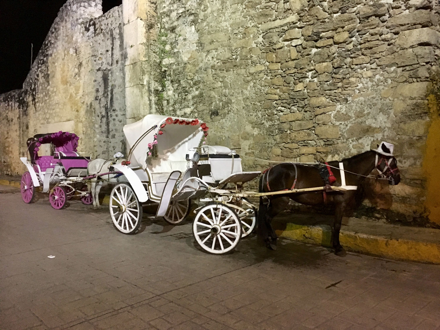 You can rent the horse carriage by the convent.