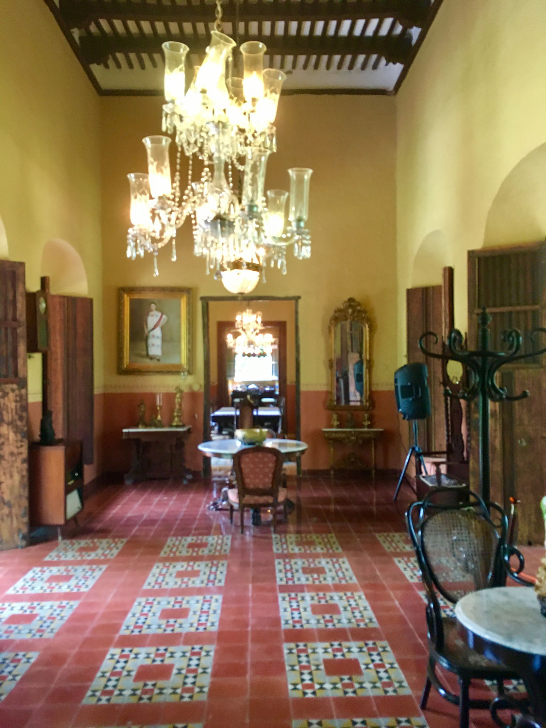 Rooms of the main house.