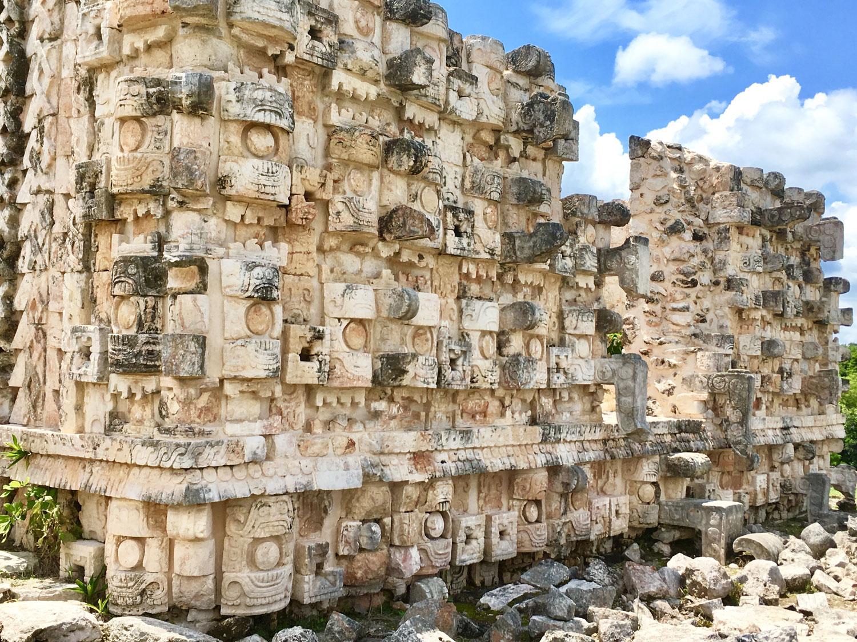 Itzam Yeh at Kabah site.