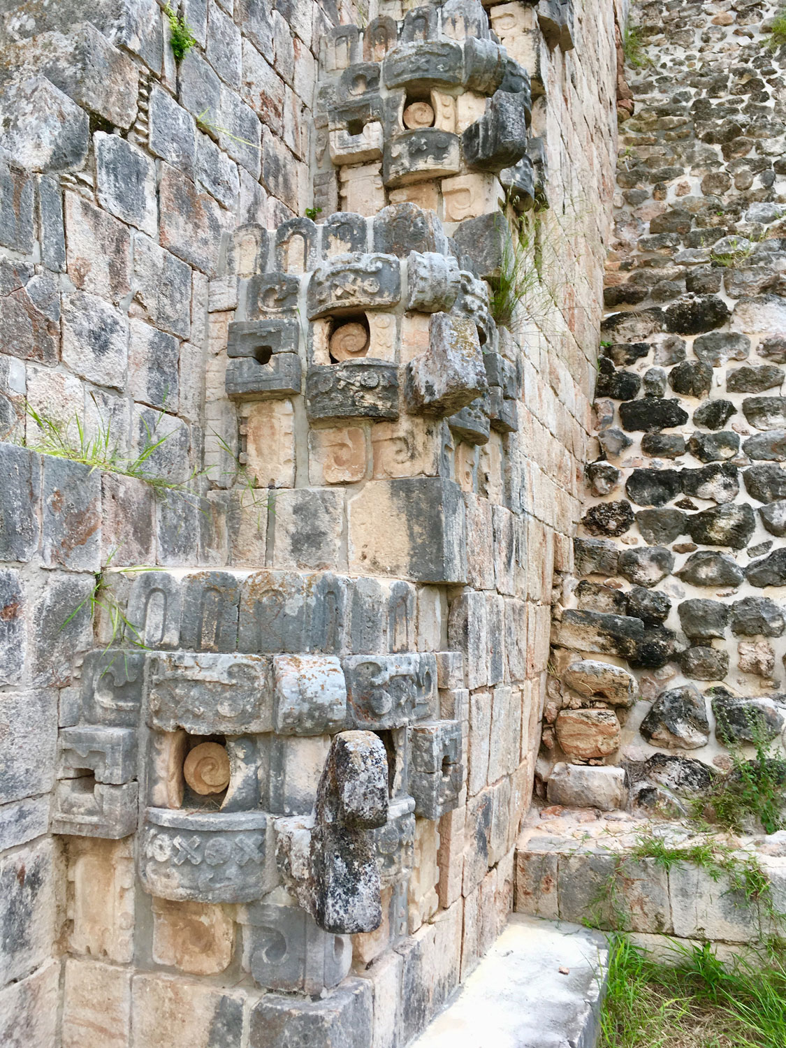 Uxmal Magician's Pyramid. For me this one is a clear cosmic bird..