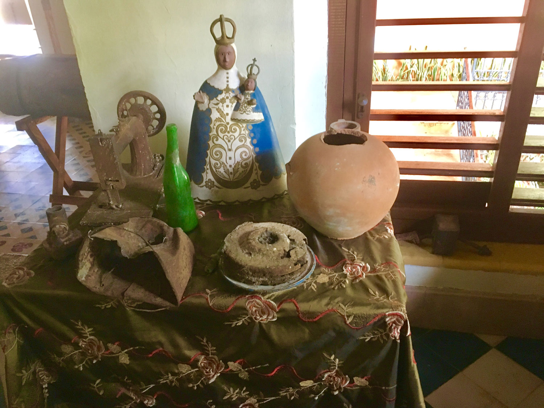 Memorabilia from the old hacienda in the hotel museum.