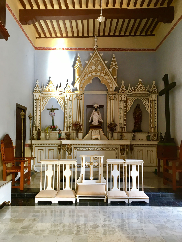 The Hacienda Chapel.