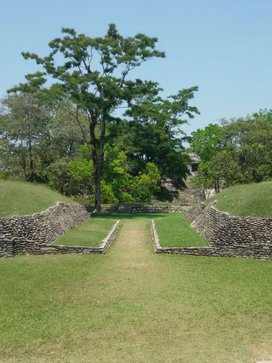 Palenque ball court.