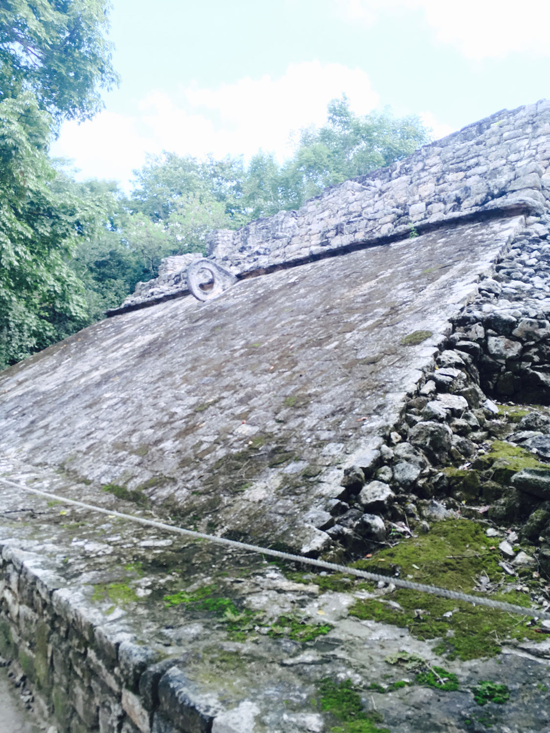 Cobá's main ball court.