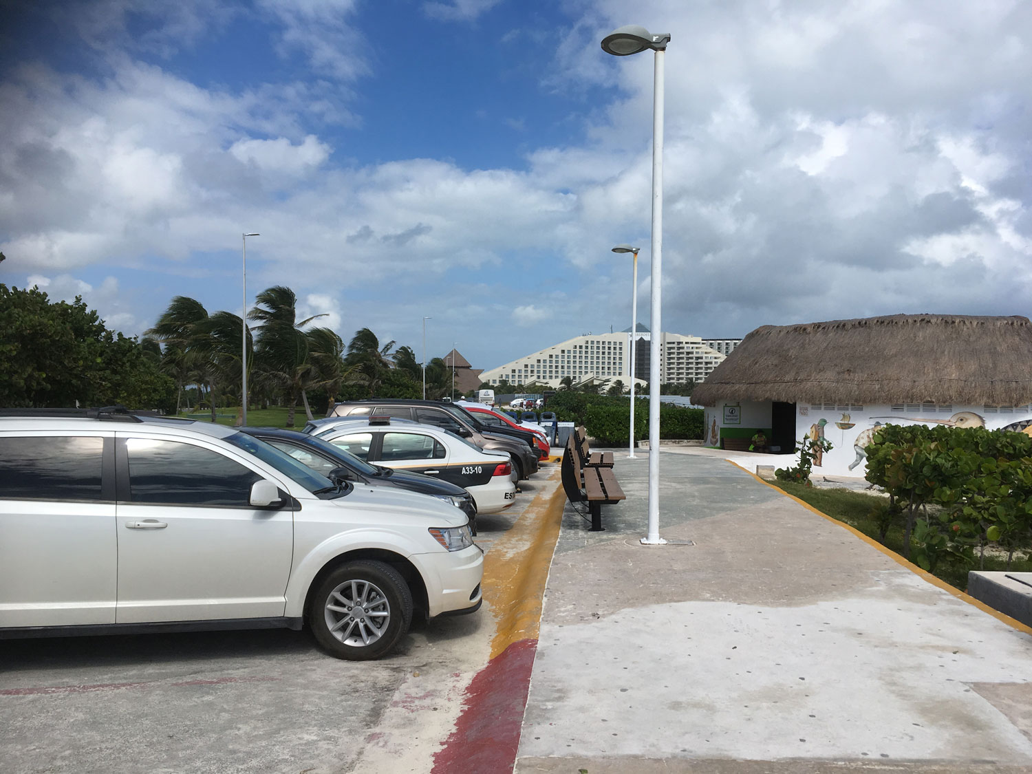 The car park for the beach is always full but attendants will help you.