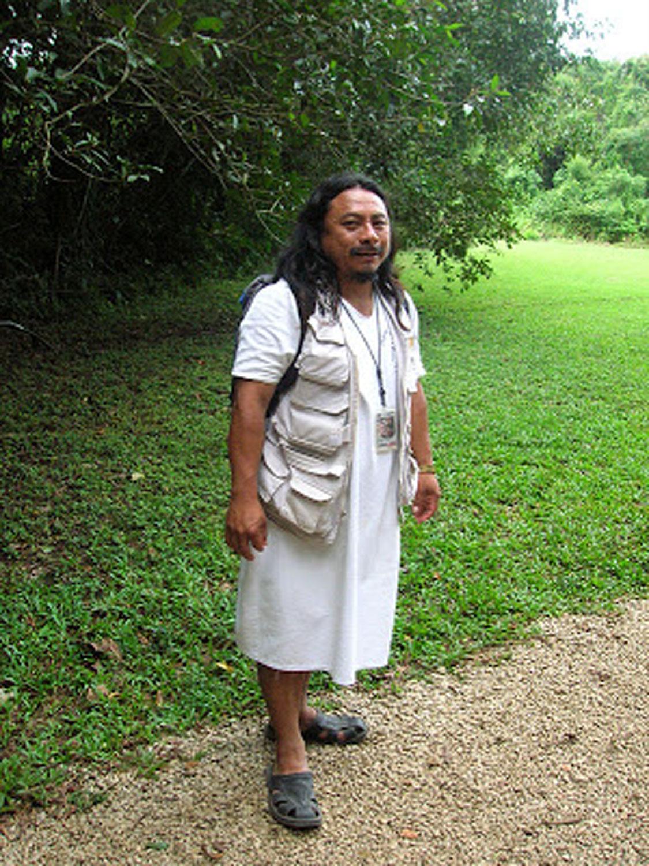 Chan Bor Yuk, the Bonampak guide, in 2017.