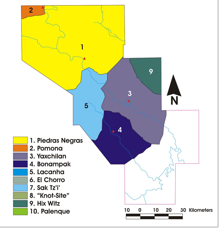 The Usumacinta Kingdoms, 763-772 AD.
