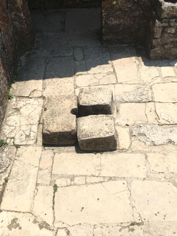 The female toilet.