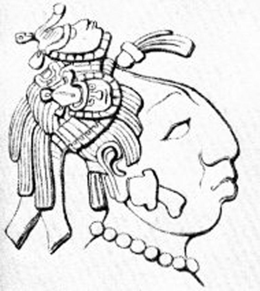 Lady Sak K'uk in 615 AD:  wikipedia.org .
