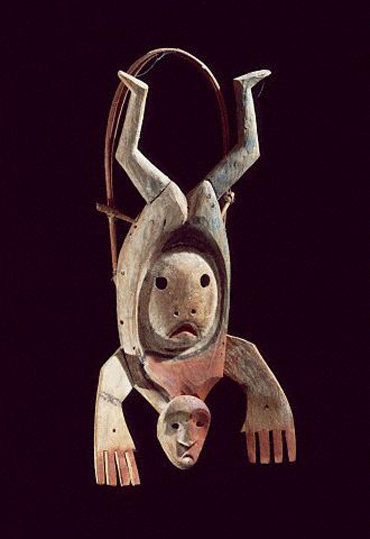 The Inuit flight of shaman's spirit:  ec-dejavu.ru .