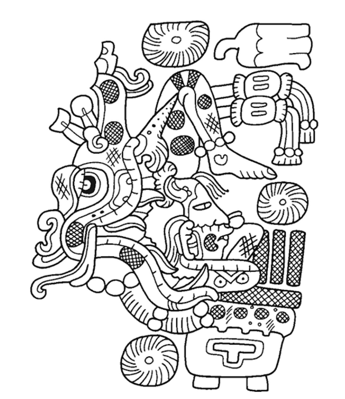 Maize god in acrobatic pose, Matthew Looper:  books.google.com.mx .