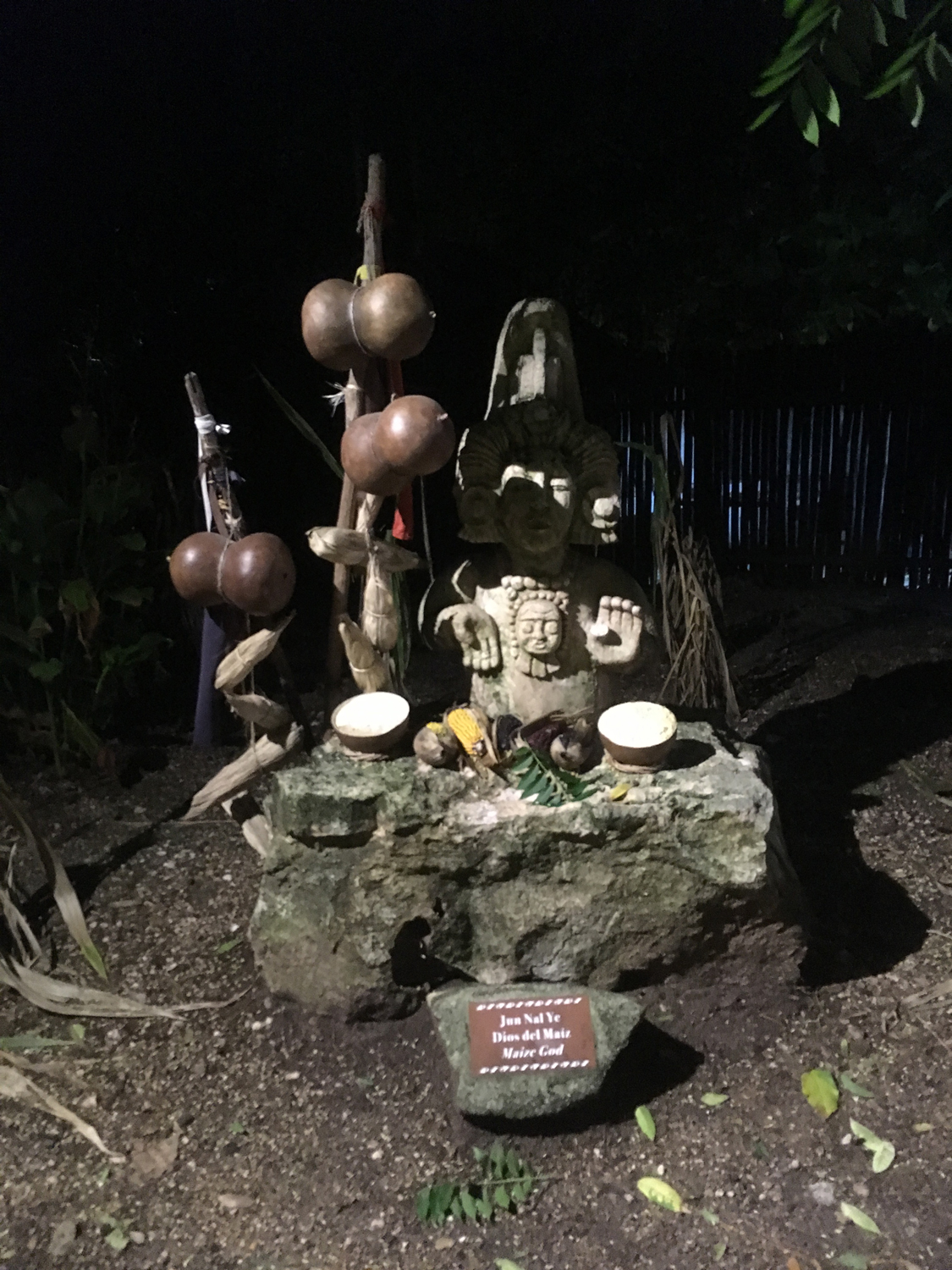 Offerings to the Maize God.