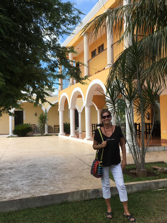 At Hacienda Izamal.