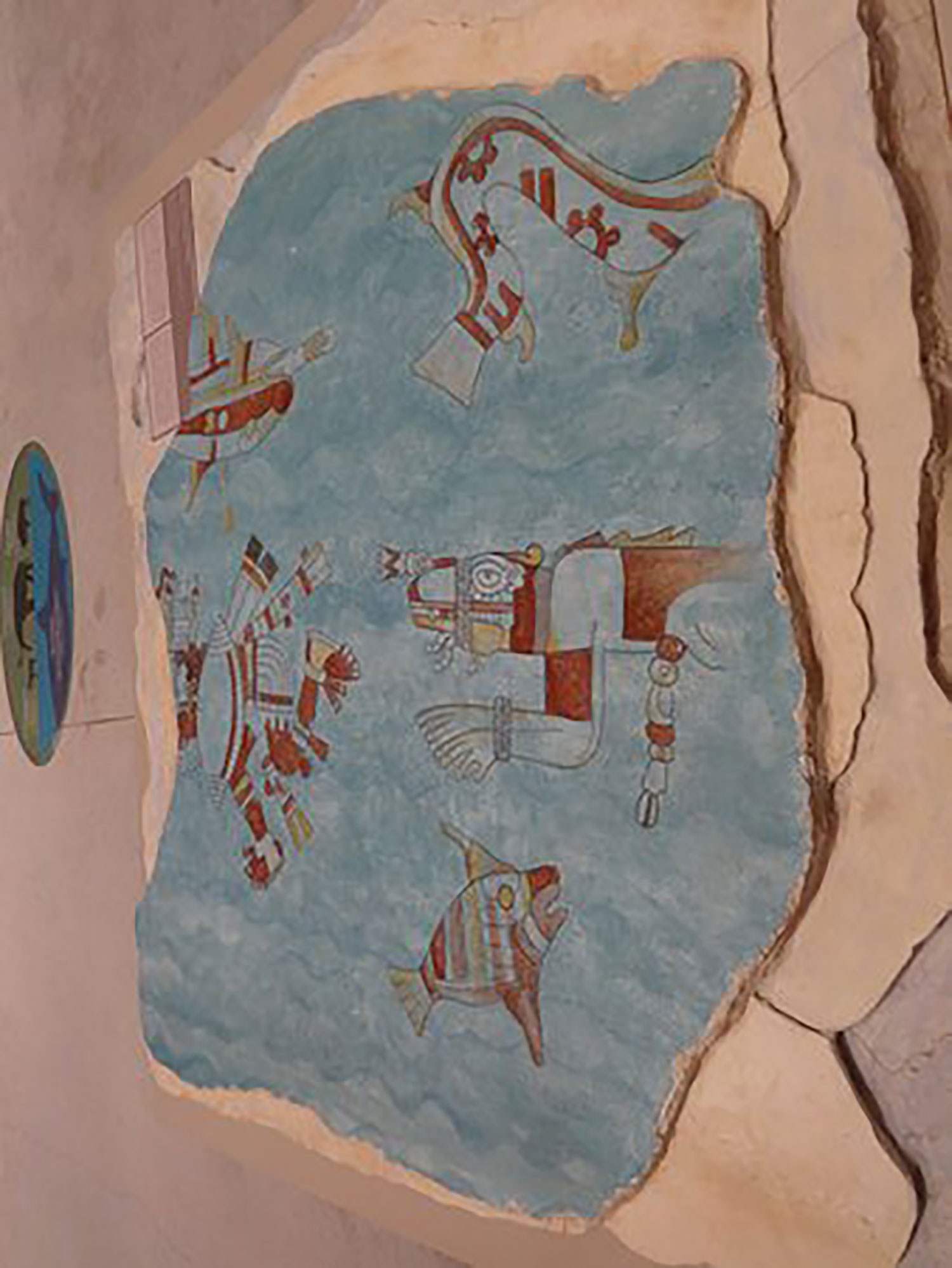 A replica at the Mayan World Museum in Mérida.