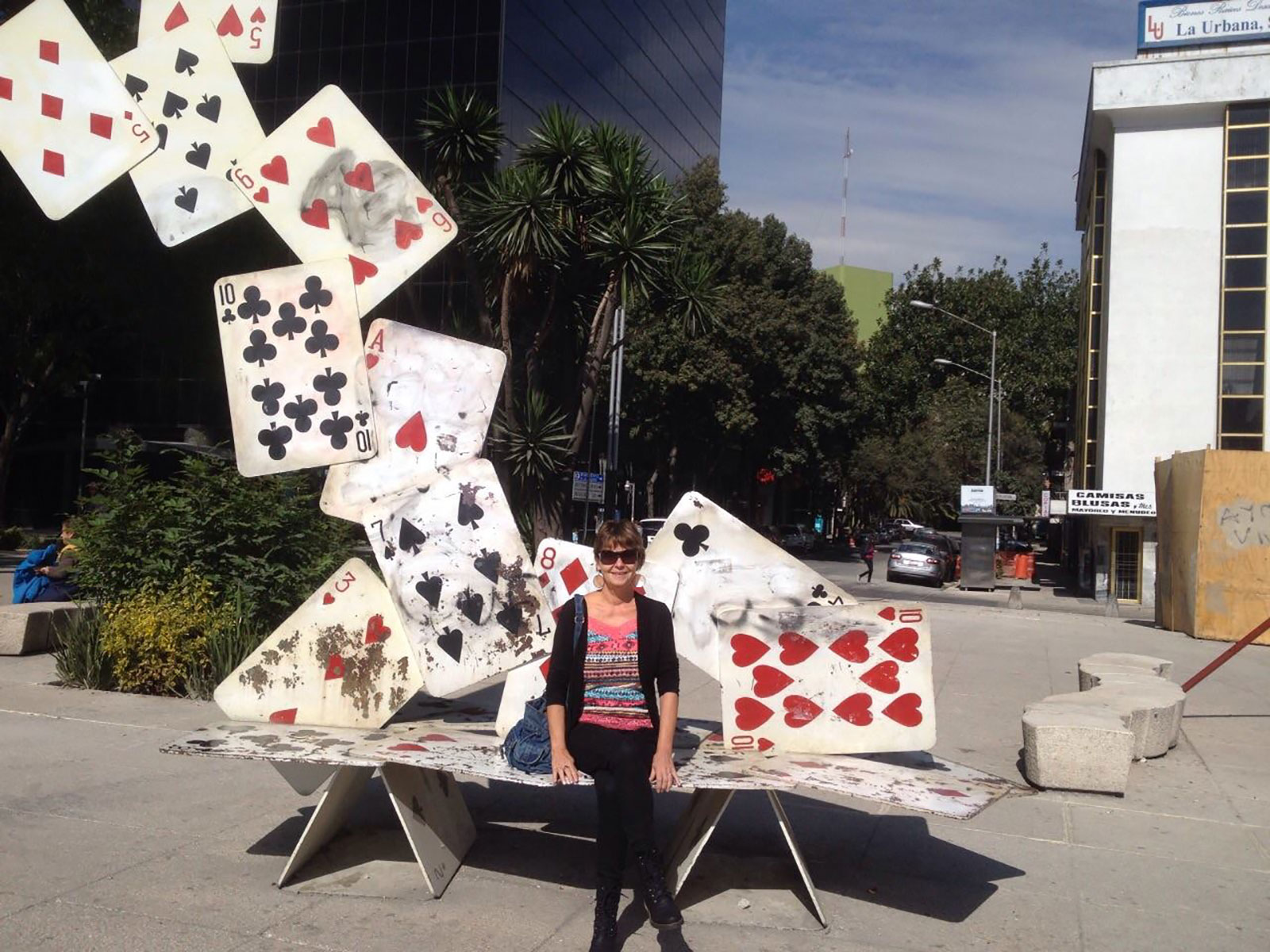 Quirky and funky benches of Mexico City