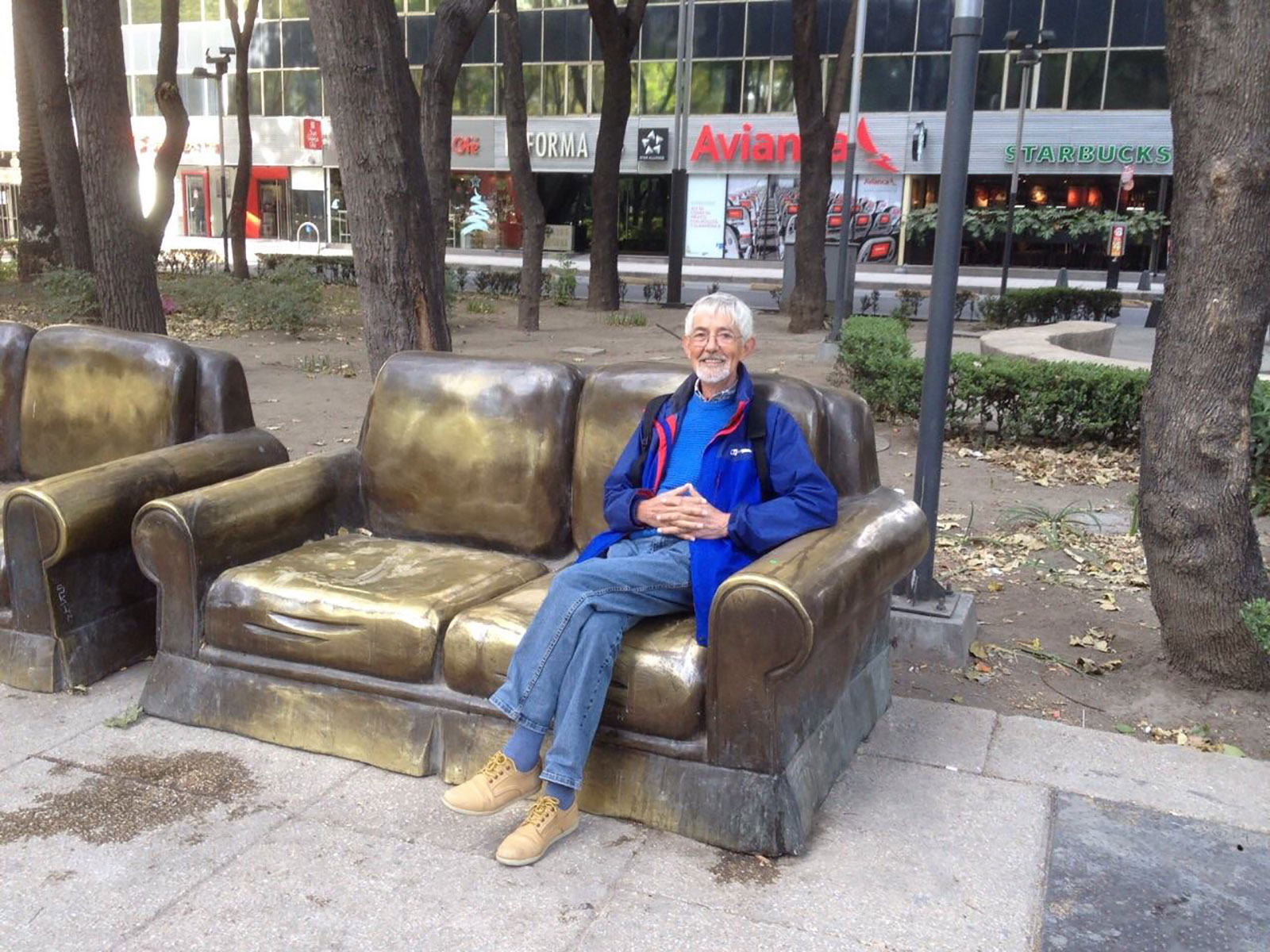 Quirky and funky benches of Mexico City.