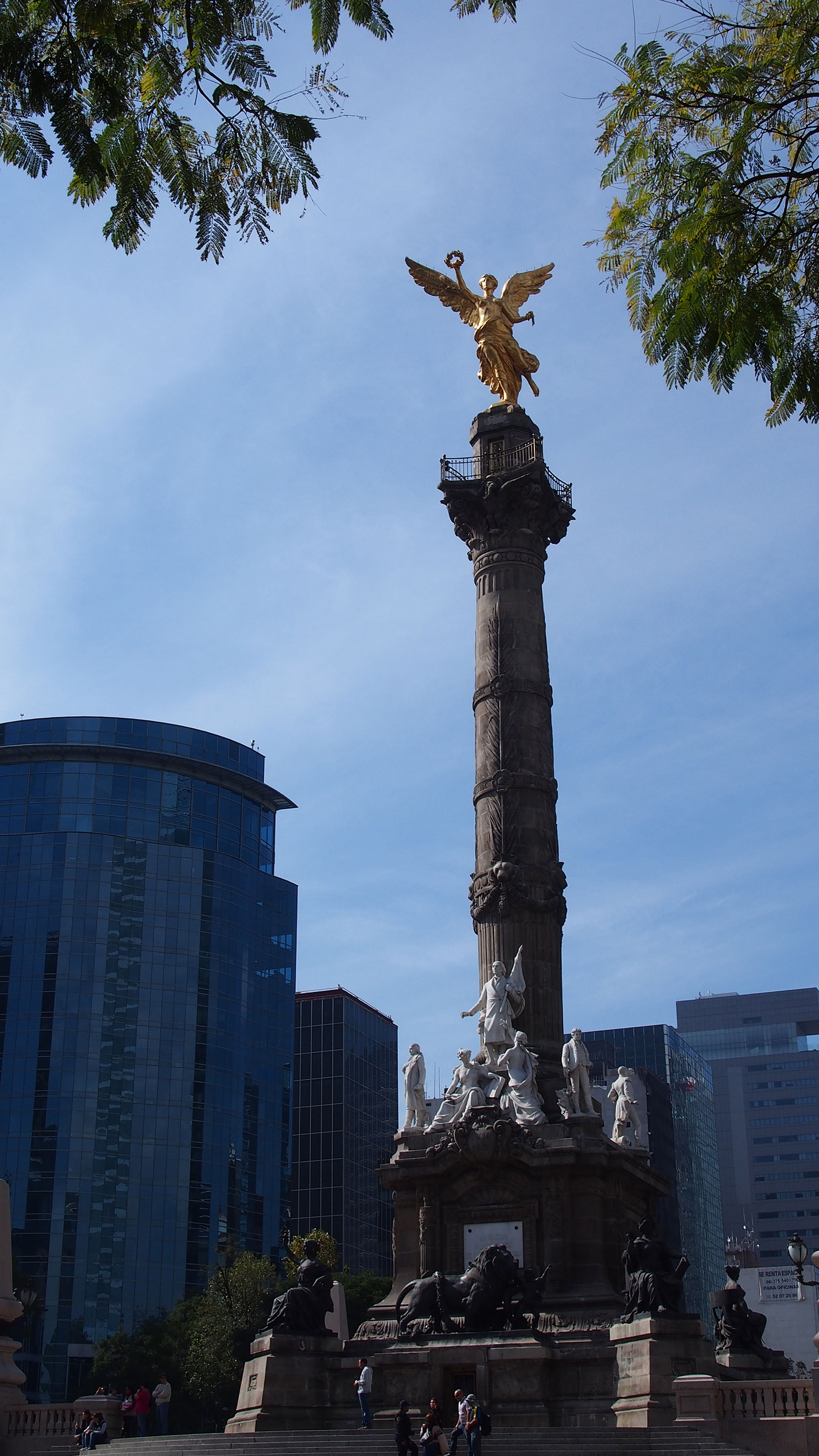 The Angel of Independence.