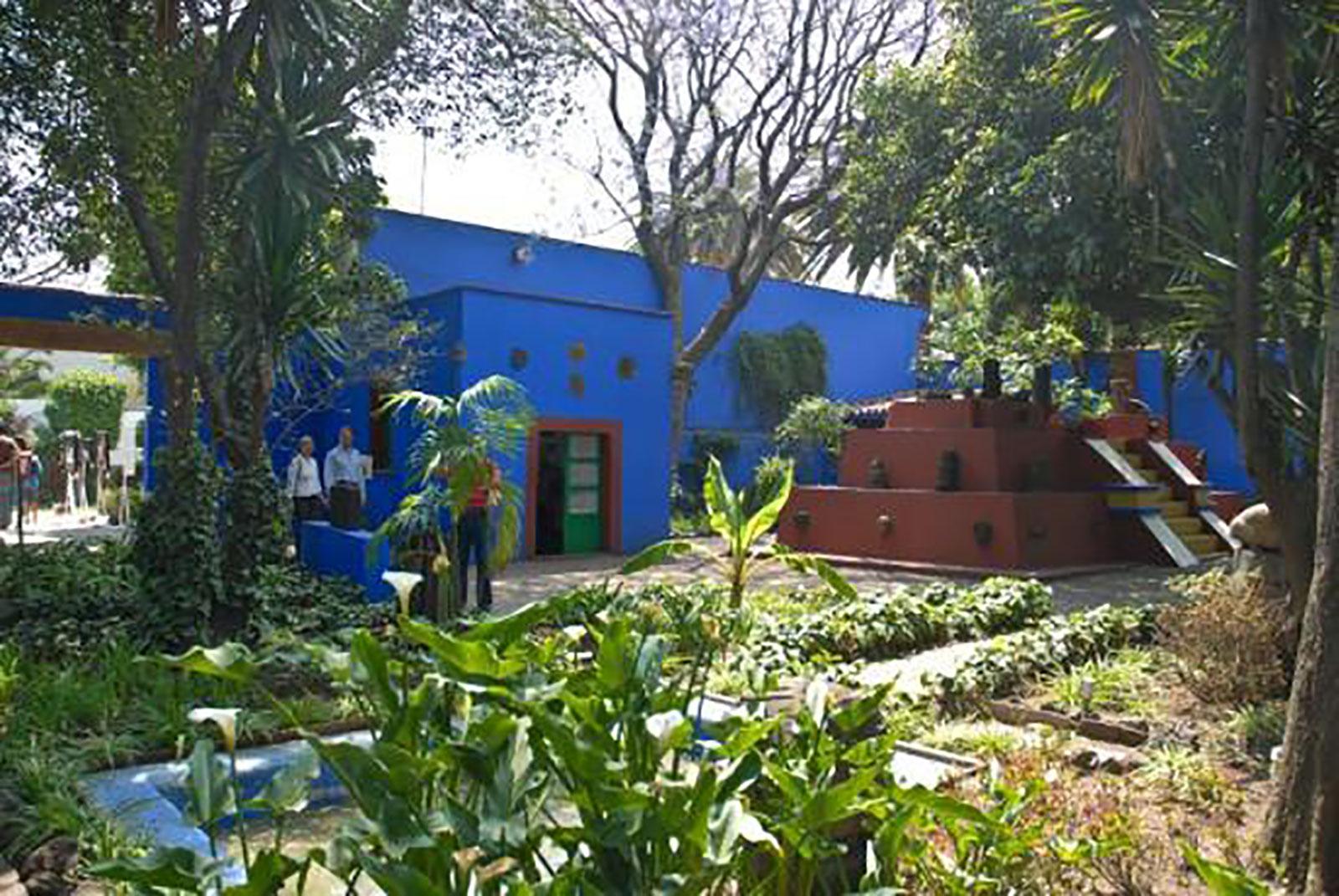 La Casa Azul Museo Frida Kahlo.