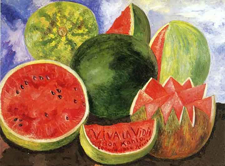 Frida Kahlo: Viva La Vida, 1954:  museofridakahlo.org.mx .
