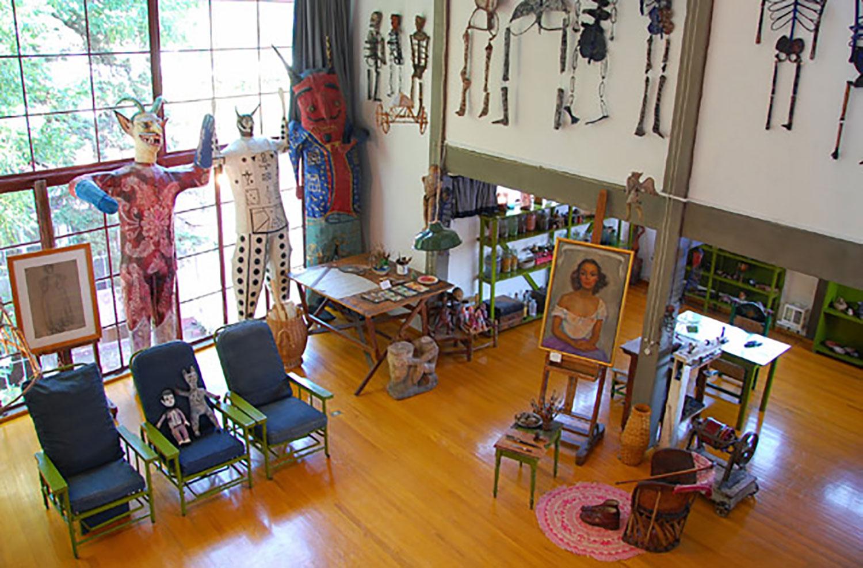 Diego's studio.