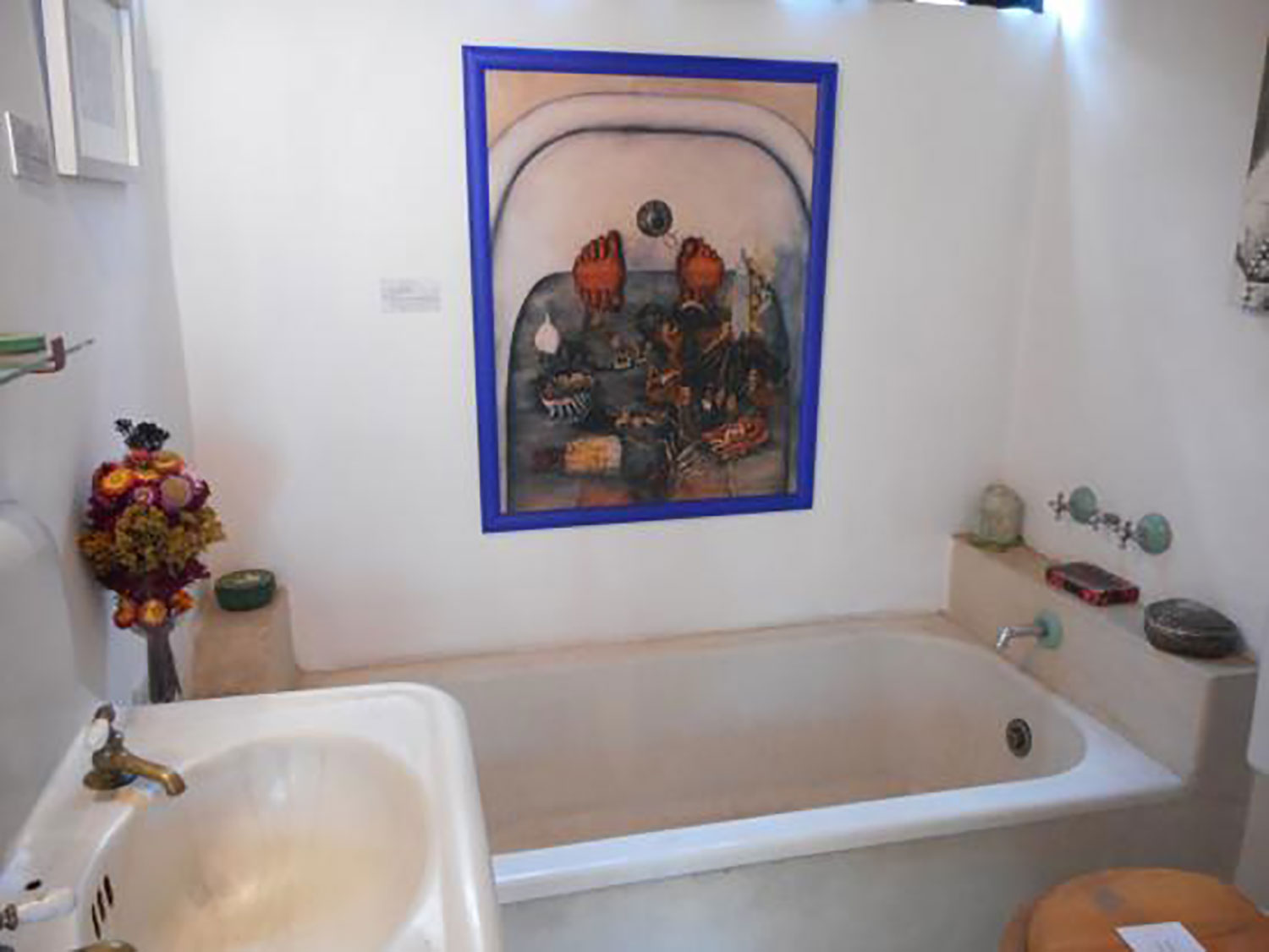 Frida's bathroom.