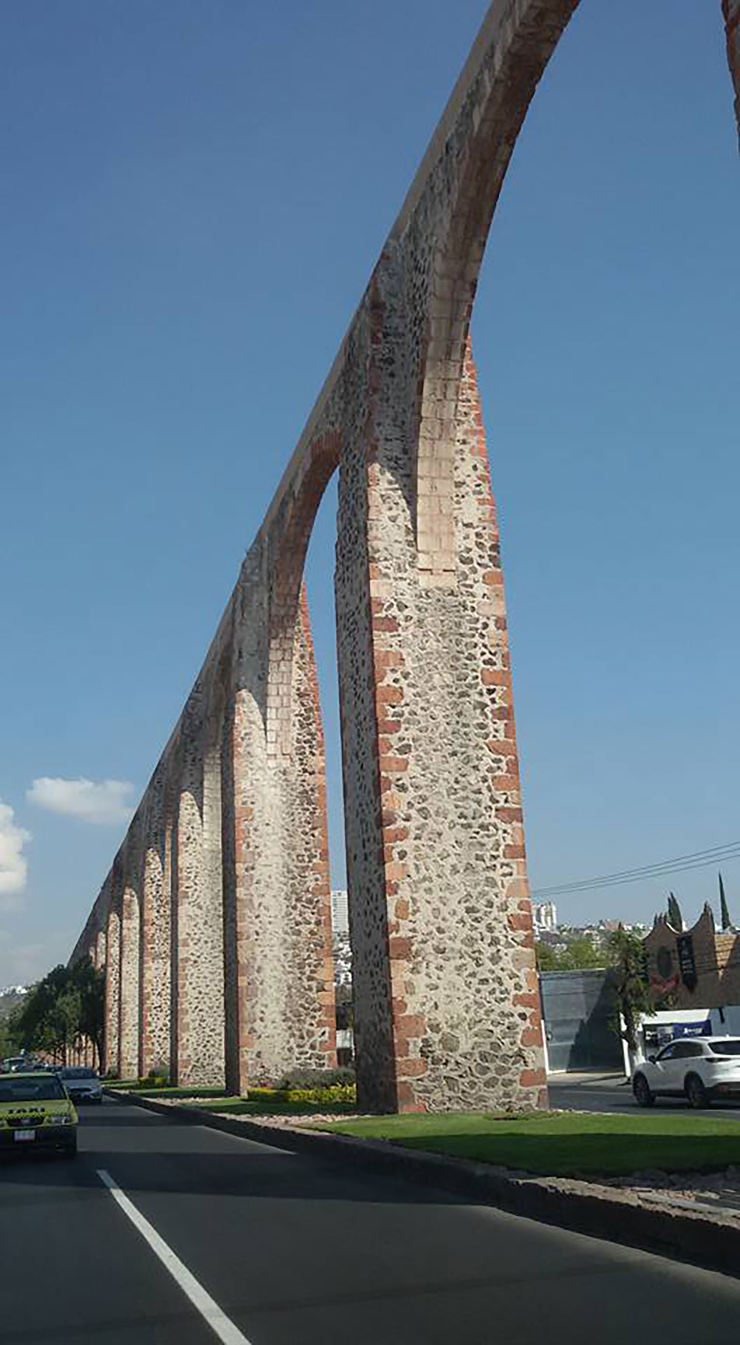 The city's aqueduct. Courtesy of Flickr.