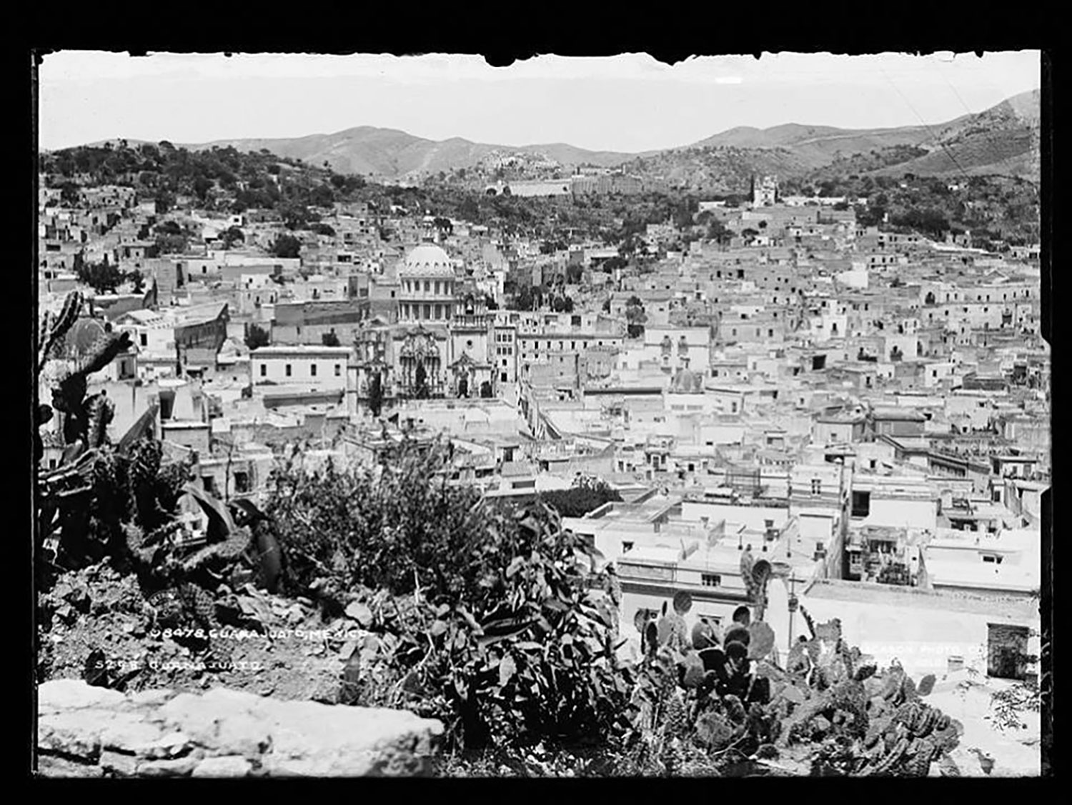 The city in 1890 by W.H. Jackson:  cazadordementes.tumblr.com .