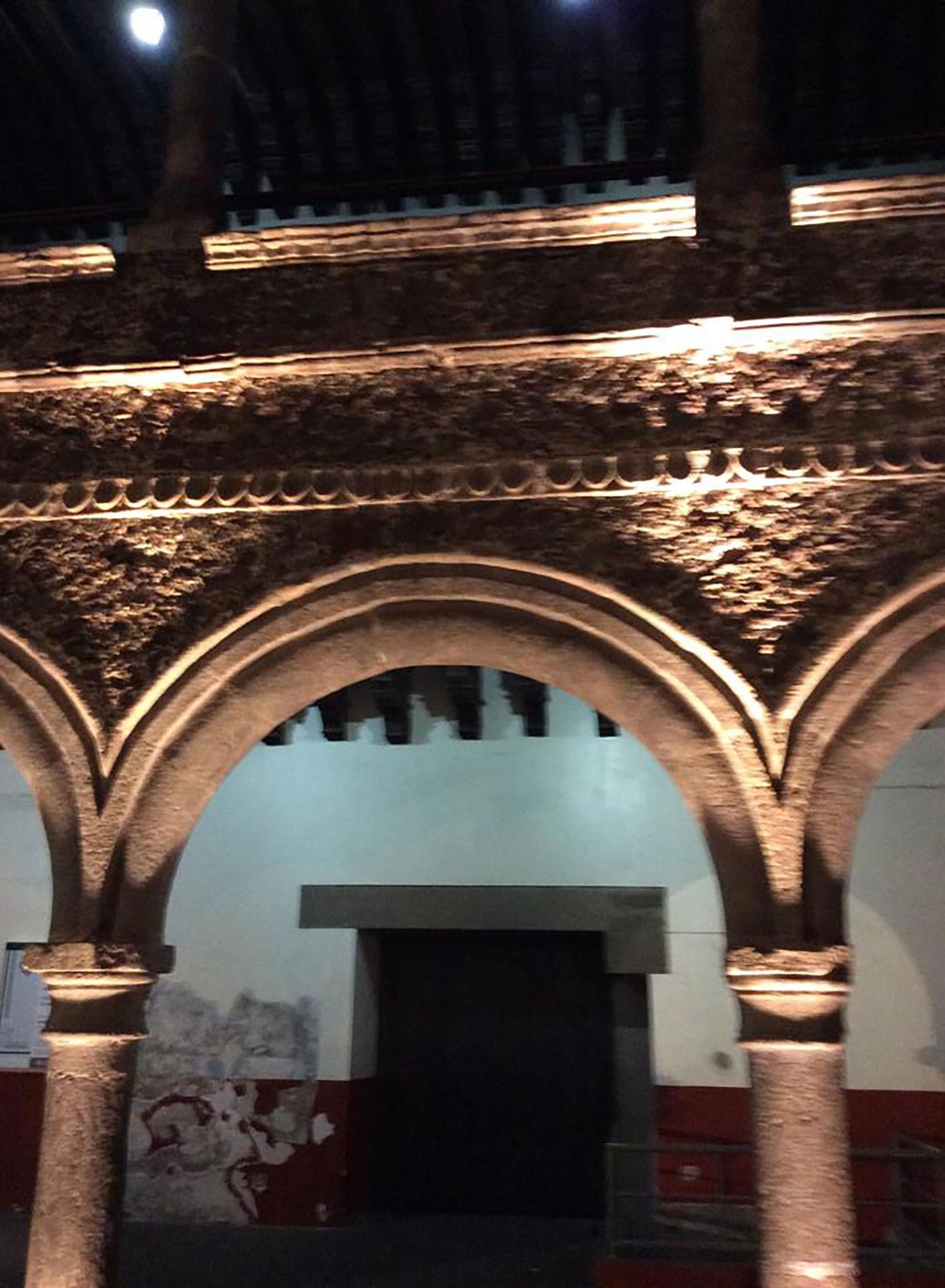 Arcade in central Cuernavaca.