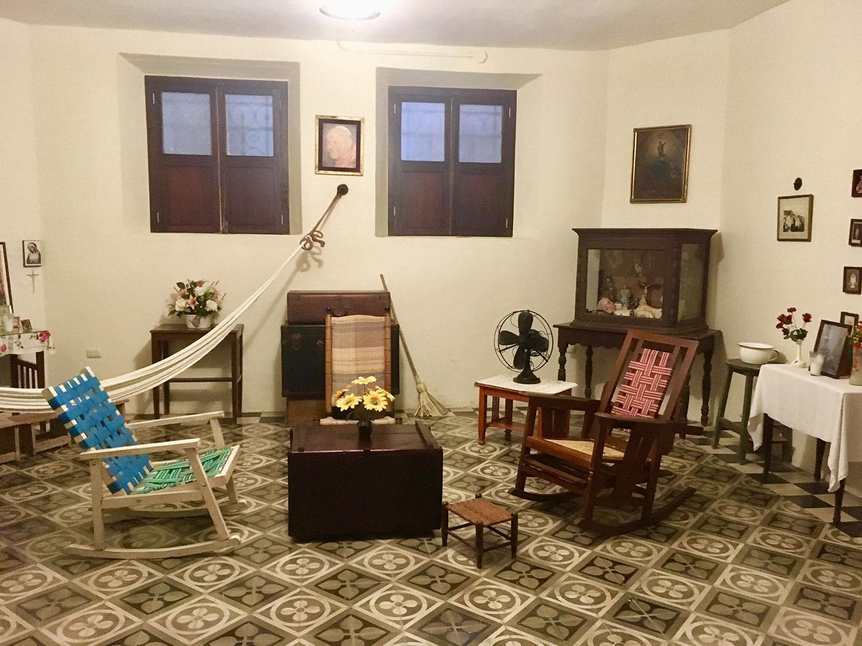 The servants' bedroom.