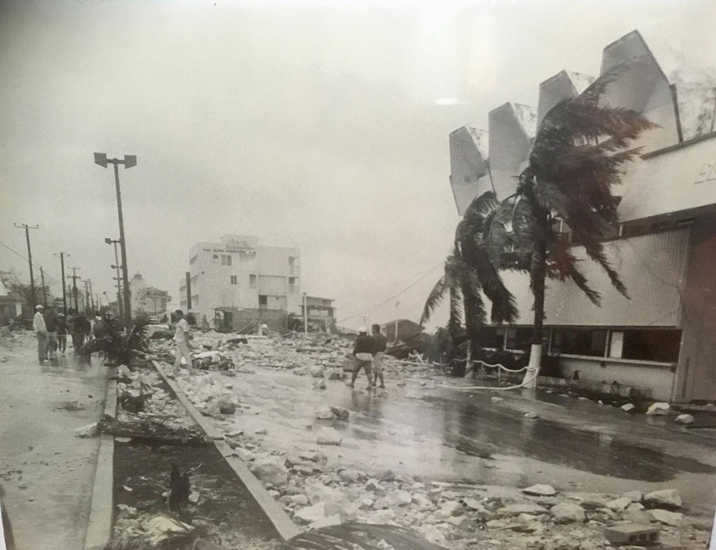 Hurricane Gilbert.