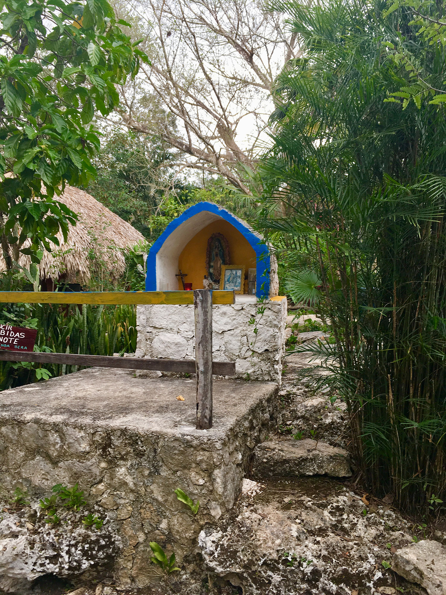 The village altar, by Boca 1.