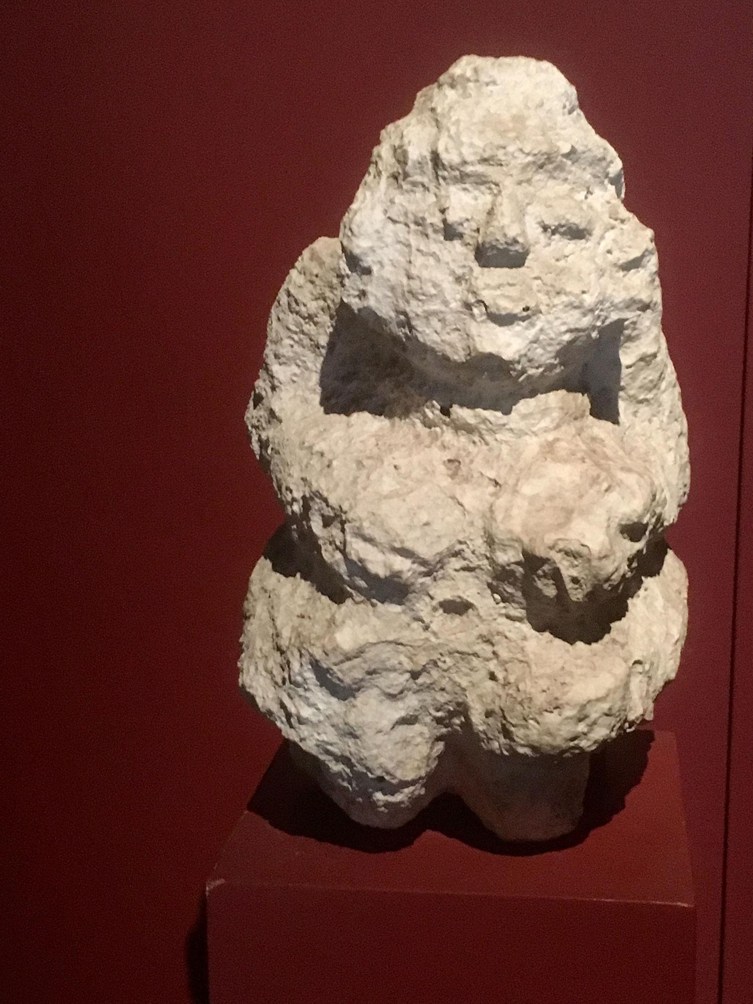 An effigy of Goddess Ix Chel?