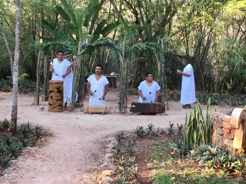 Chá Chaac ceremony at Uxmal Choco Story.