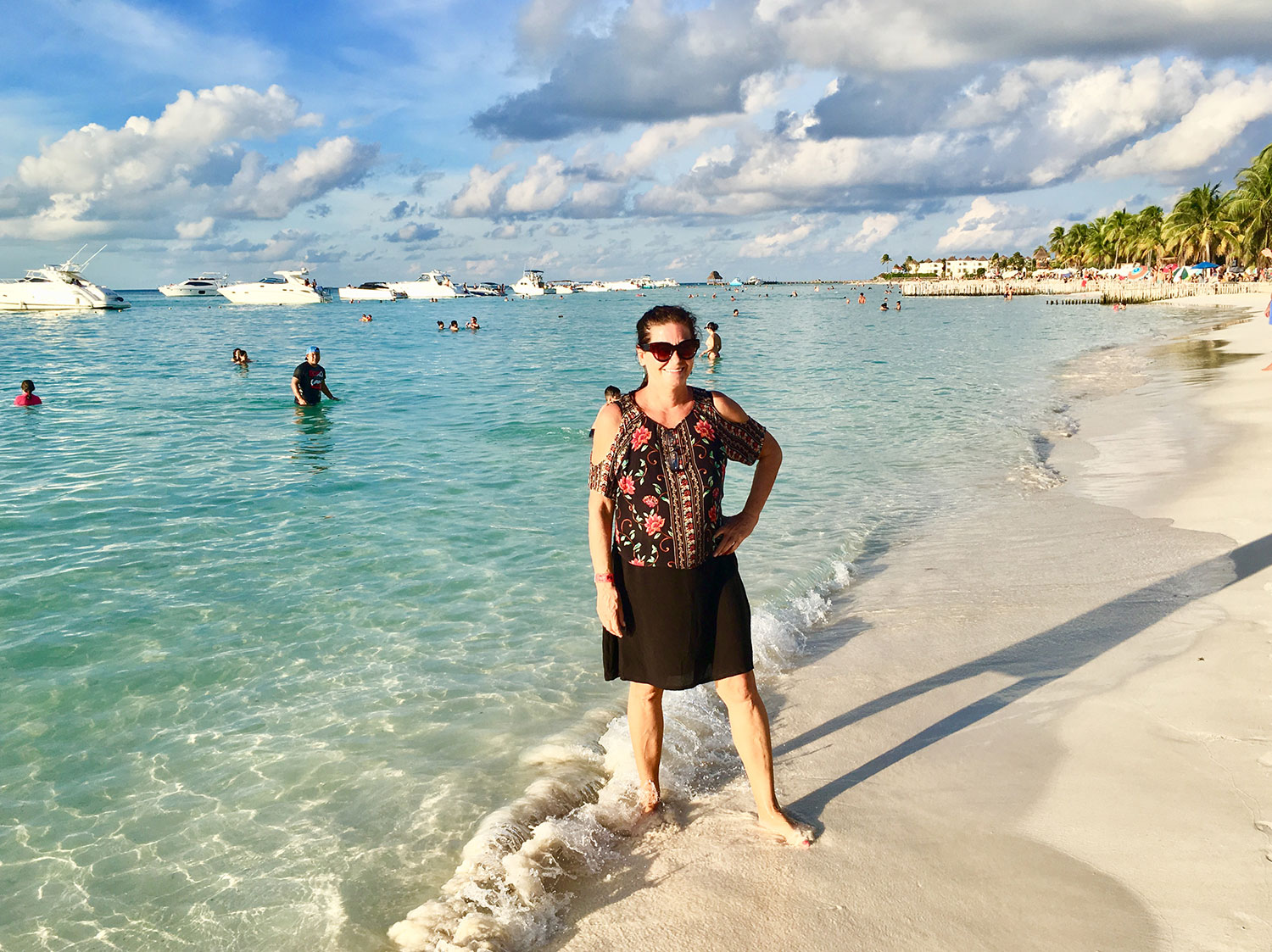 North Beach on Isla Mujeres, 2018.