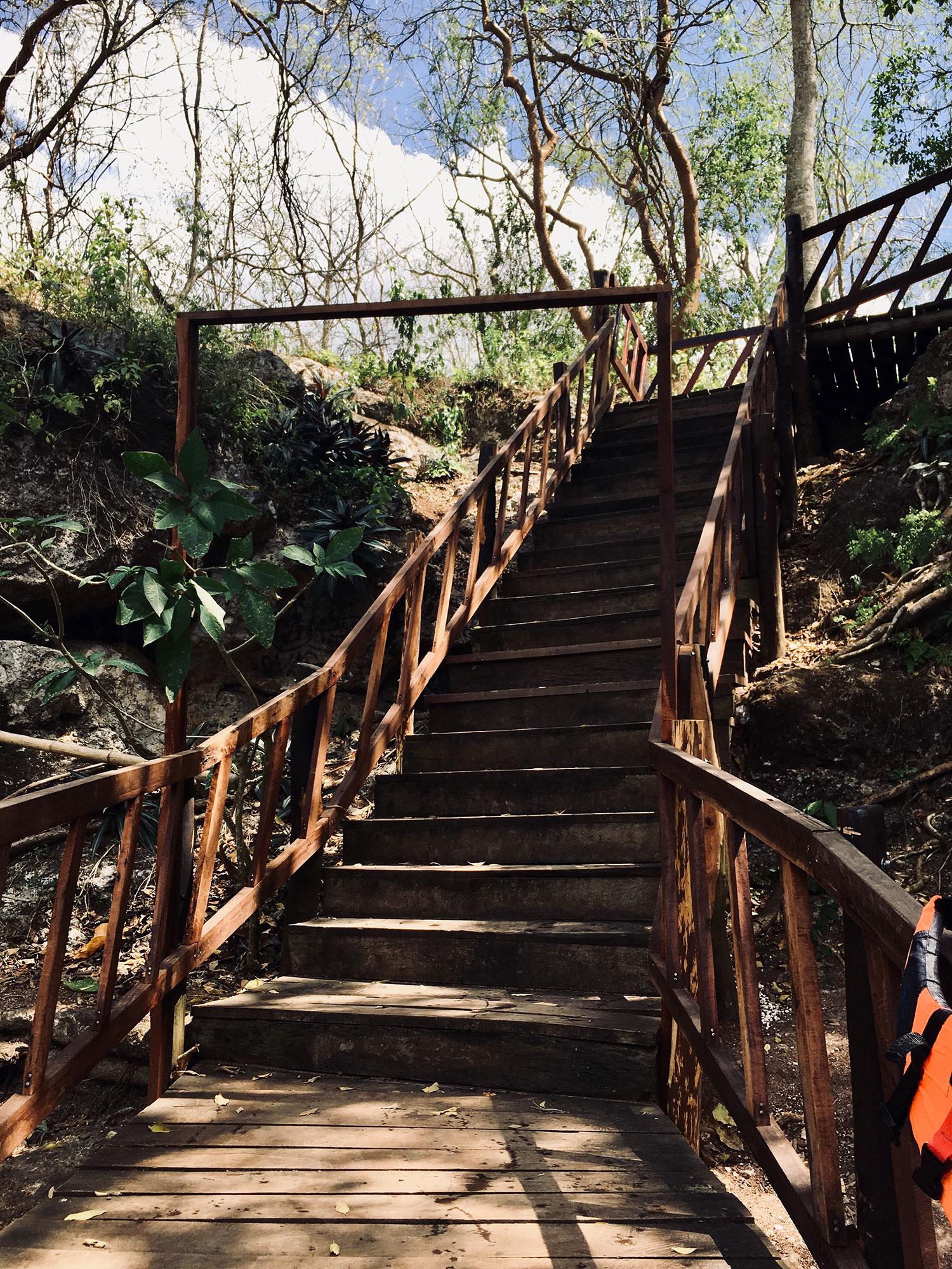The steps to Boca 5.