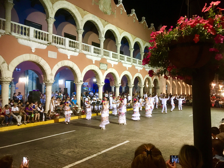 Jarana dance. I took the photo in Mérida.